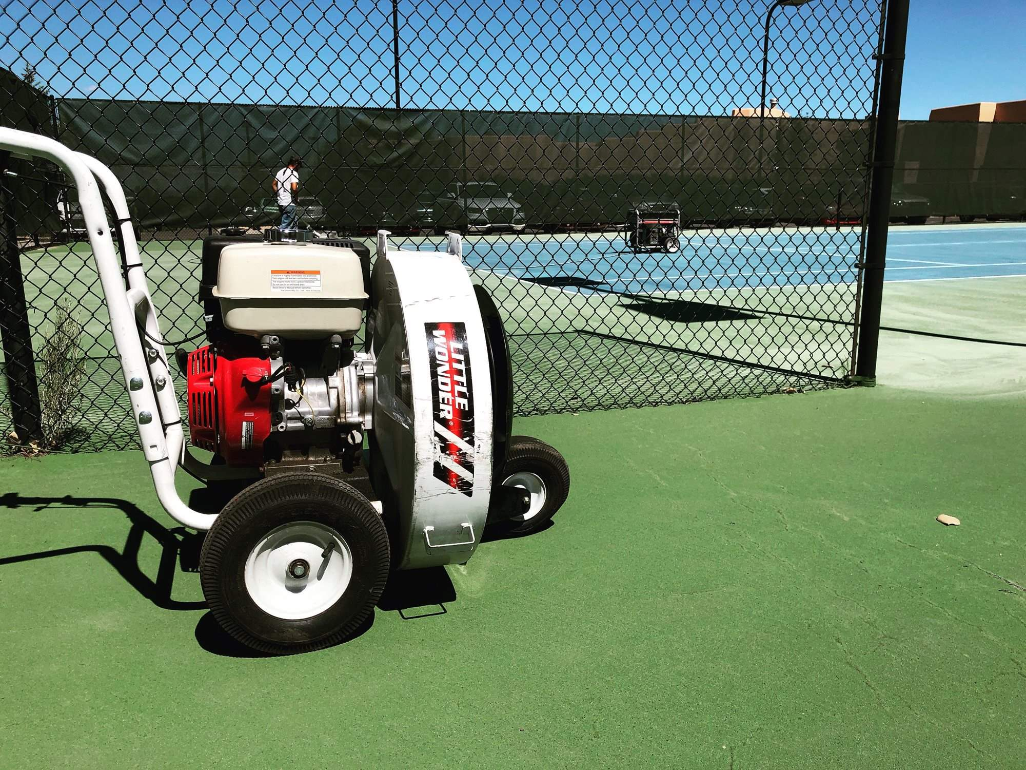 Resurfacing Courts